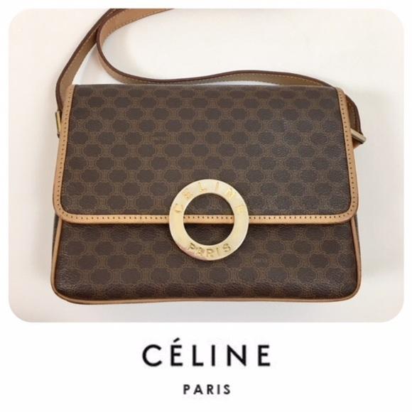 Celine Handbags - 💥⬇ 💲200💥Vintage Old CELINE Crossbody Bags🌸 73acd347aea6f